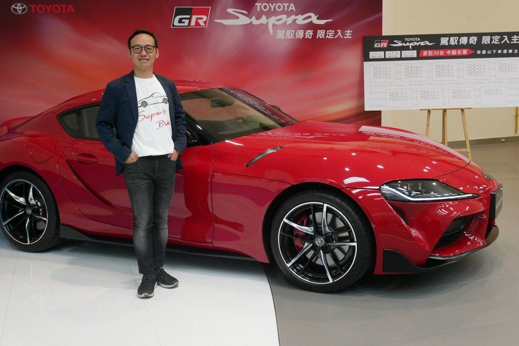 和泰汽車於7月30日公布TOYOTA傳奇跑車GR Supra預購中籤名單,TOY...