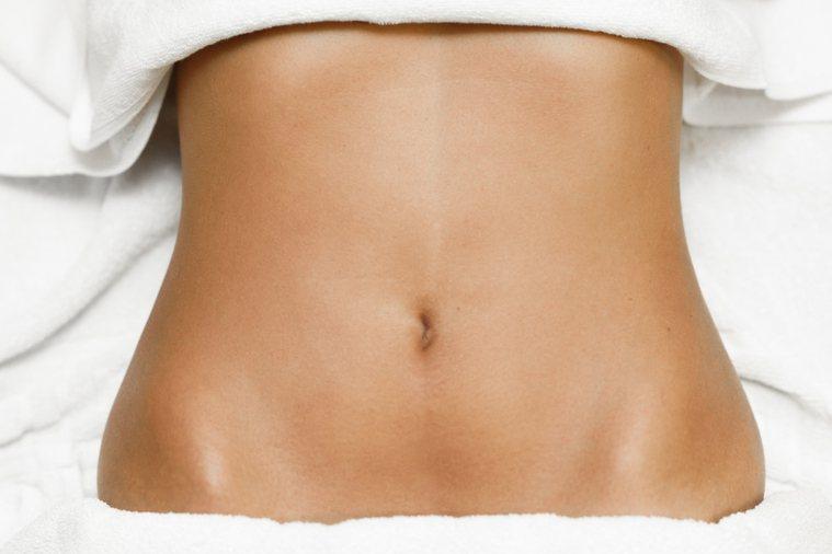 肚臍示意圖。圖片來源/ingimage