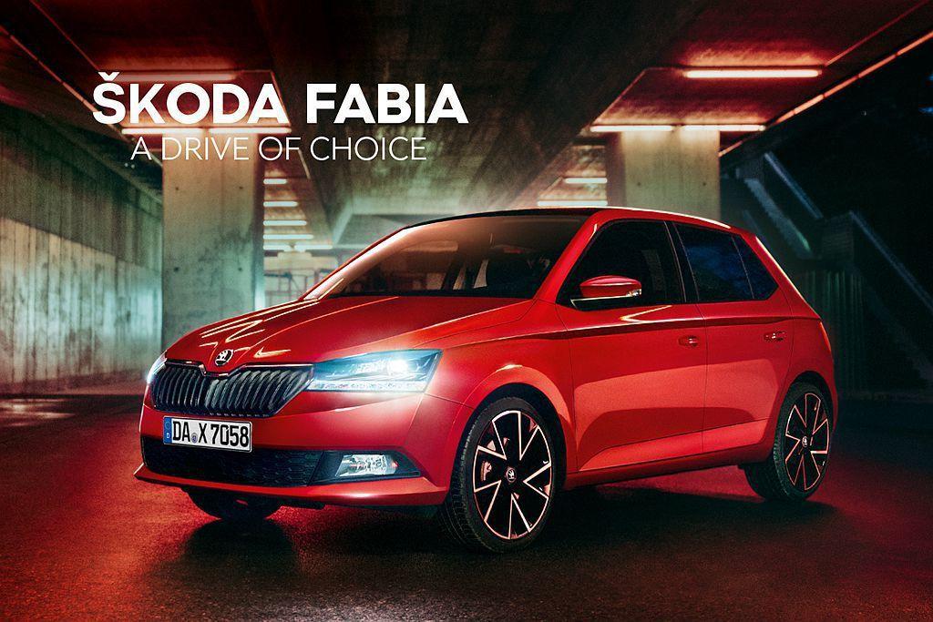 Skoda汽車宣布推出新年式Fabia都會小車,新增許多個性、便捷套件可選。 圖...