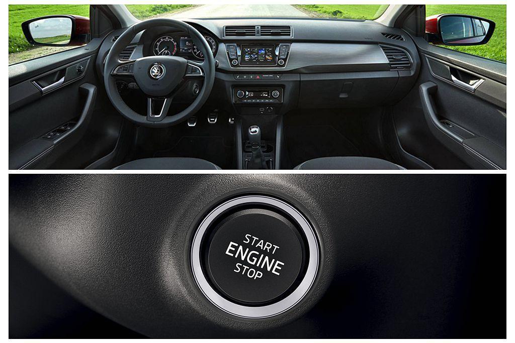 Skoda Fabia都可選的Kessy無鑰匙系統,在新年式車型上多了連動防盜功...