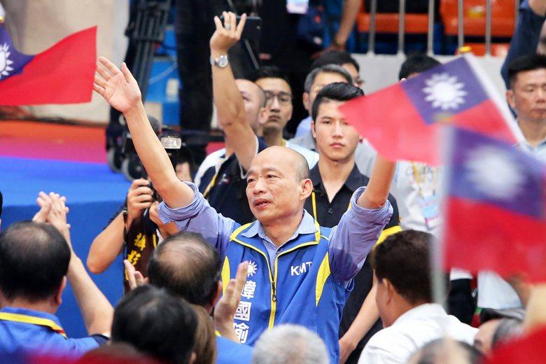 自喻為「大鬧天宮的齊天大聖」韓國瑜,不僅當選高雄市長,更成為國民黨正式提名的20...