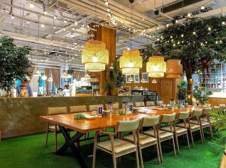 「弄咖啡親子餐廳」空間寬廣。IG @anita_lcc提供