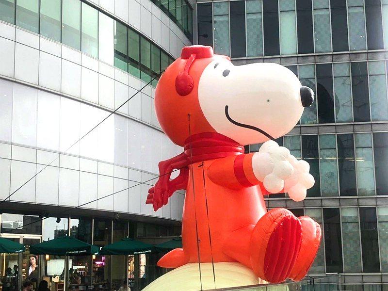 圖源/fb:Snoopy太空城市探險:人類登月50週年紀念月