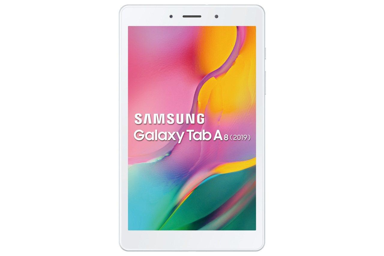 三星Galaxy Tab A8 (2019) LTE推出黑、銀兩色,建議售價5,...