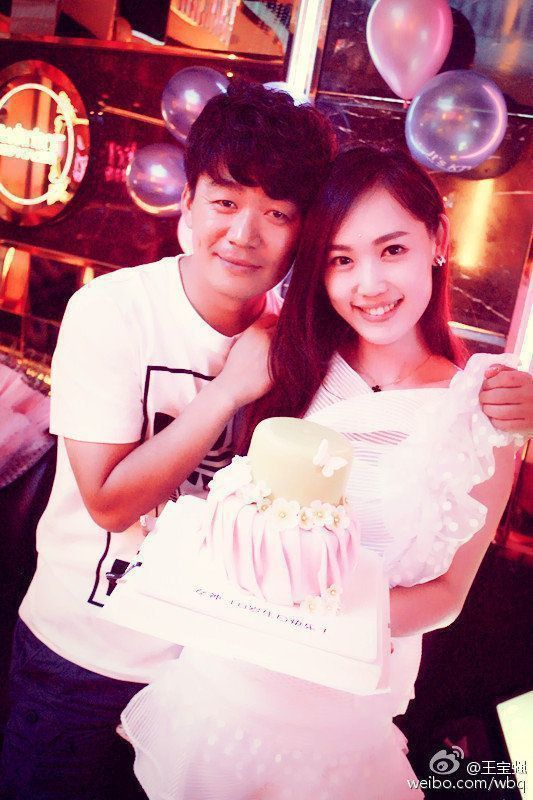 王寶強與馬蓉。 圖/摘自微博