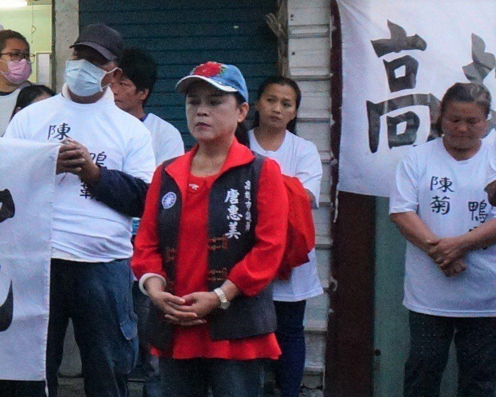 高雄市國民黨議員唐惠美。本報資料照片