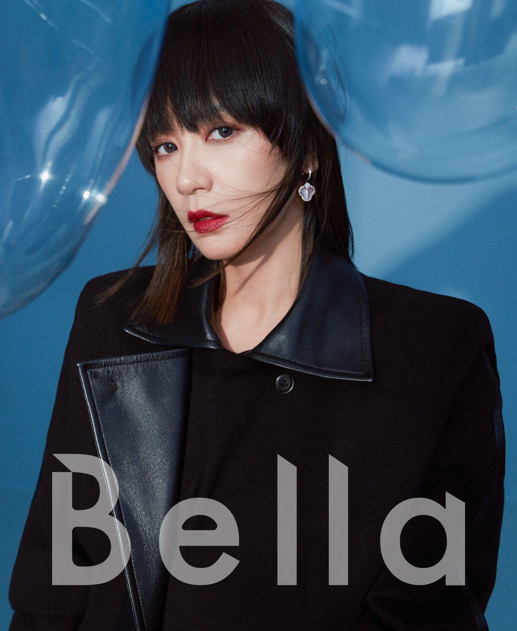賈靜雯被朋友封為「正能量女神」。圖/Bella儂儂提供