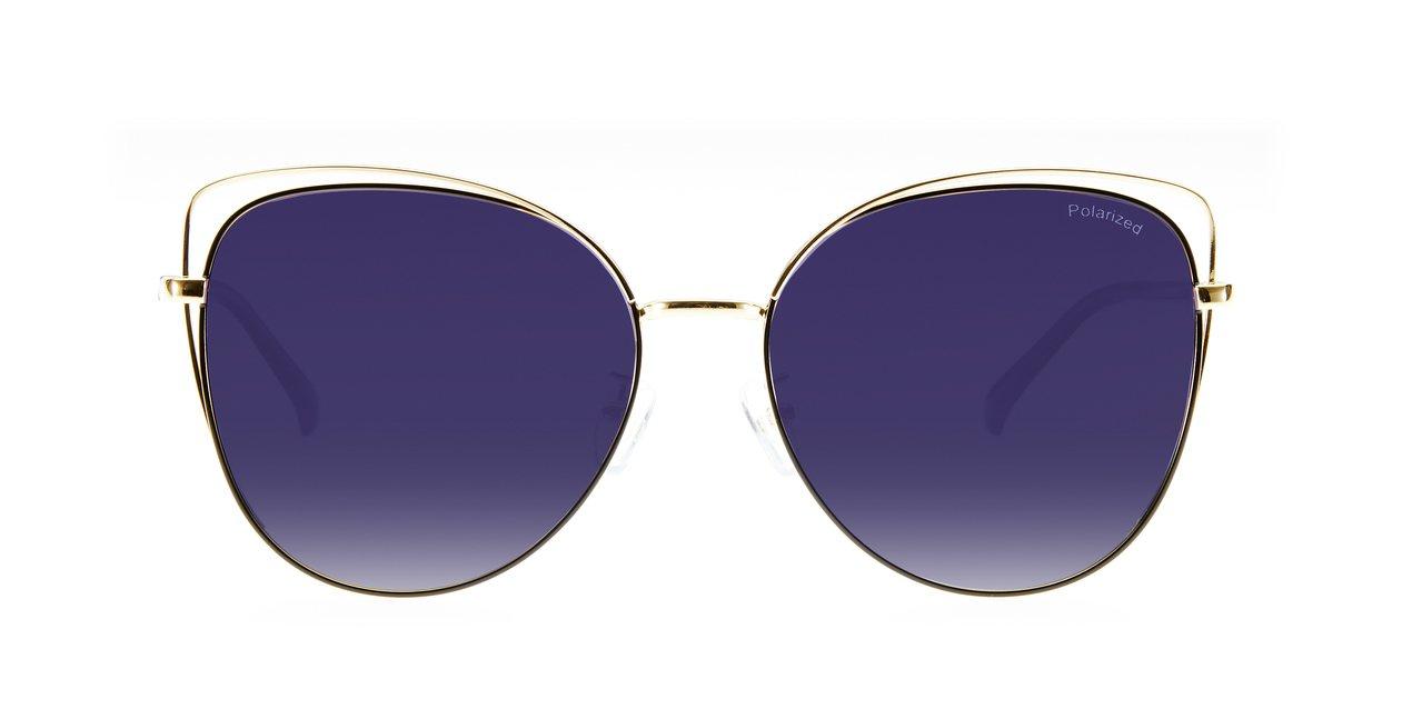 BIN IN DEI經典貓眼墨鏡,2,990元。圖/永三提供