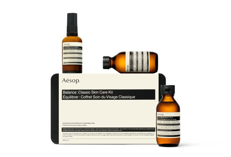 Aesop平衡:經典護膚組合 /售價3,450元。圖/Aesop提供