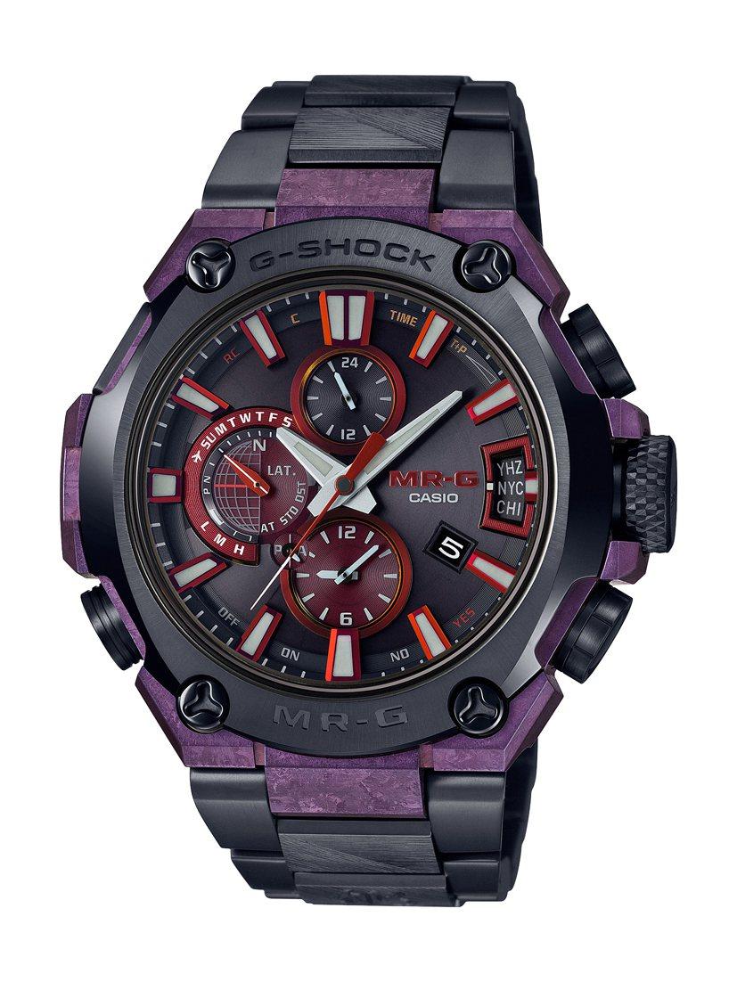 G-Shock MRG-G2000GA腕表,鈦金屬表殼、表鍊,全球限量300只,...