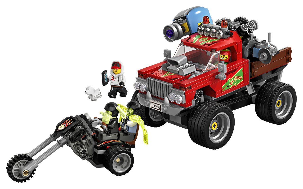 LEGO樂高Hidden Side幽靈秘境系列「艾弗格的特技卡車」,售價1,59...