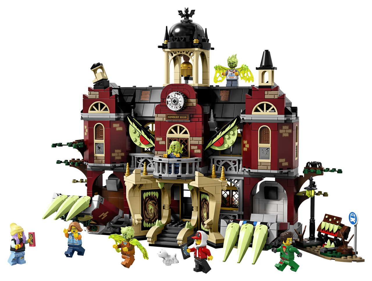 LEGO樂高Hidden Side幽靈秘境系列「紐伯里鬧鬼高校」,售價4,799...
