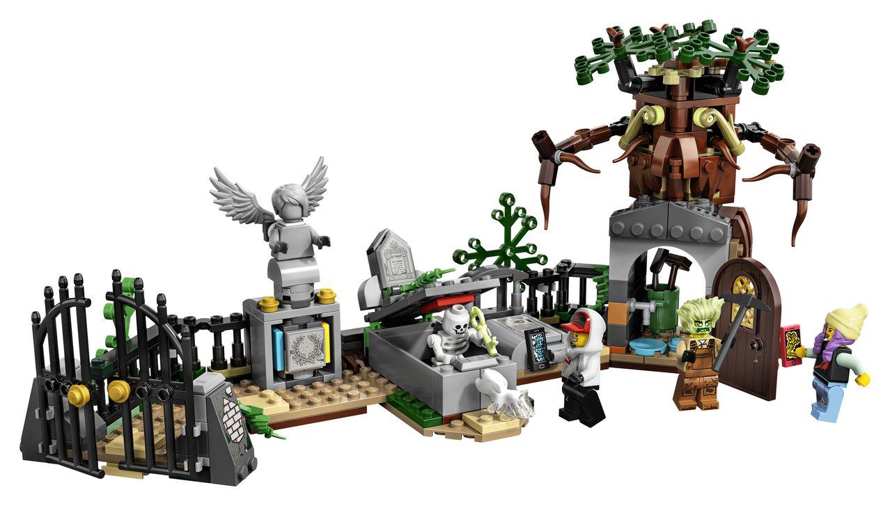 LEGO樂高Hidden Side幽靈秘境系列「古墓之謎」,售價1,299元。圖...