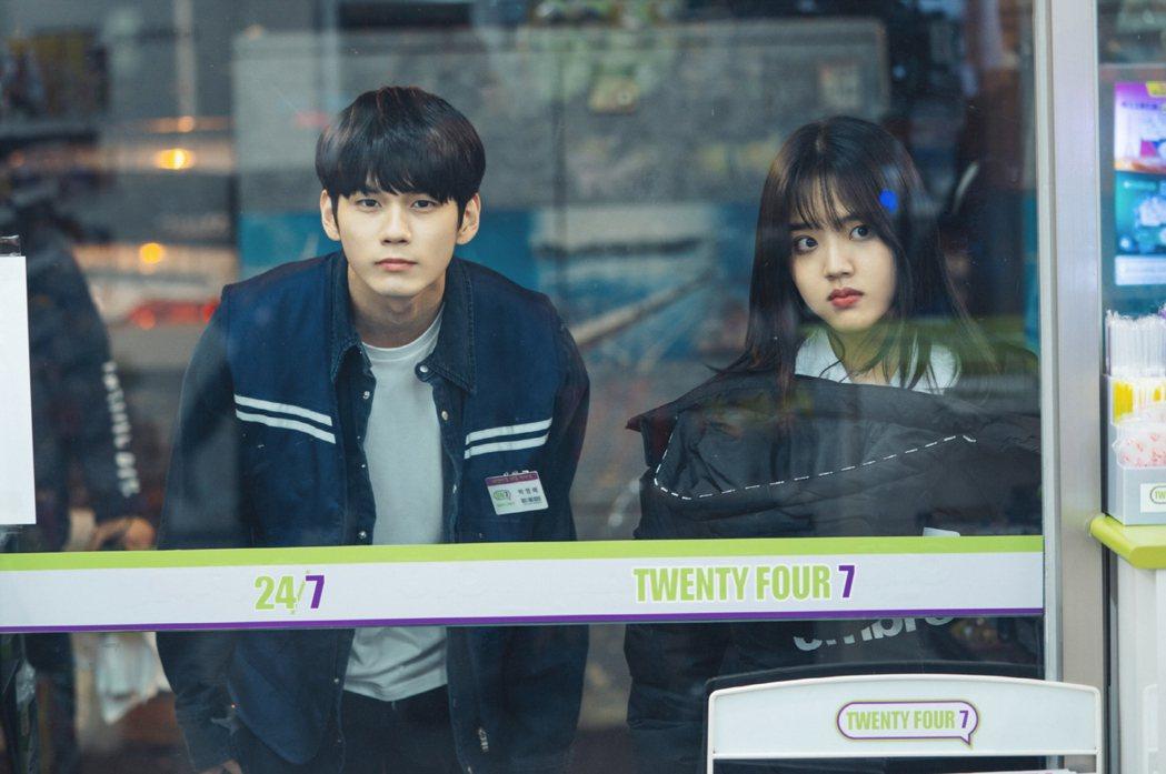 金香起在韓劇「18歲的瞬間」打動邕聖祐心房。圖/friDay影音提供