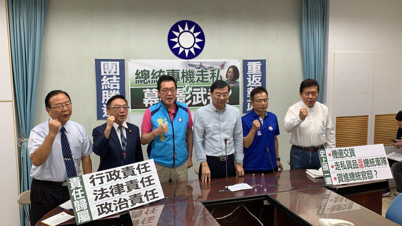 國民黨立委費鴻泰(左三)。圖/費鴻泰提供