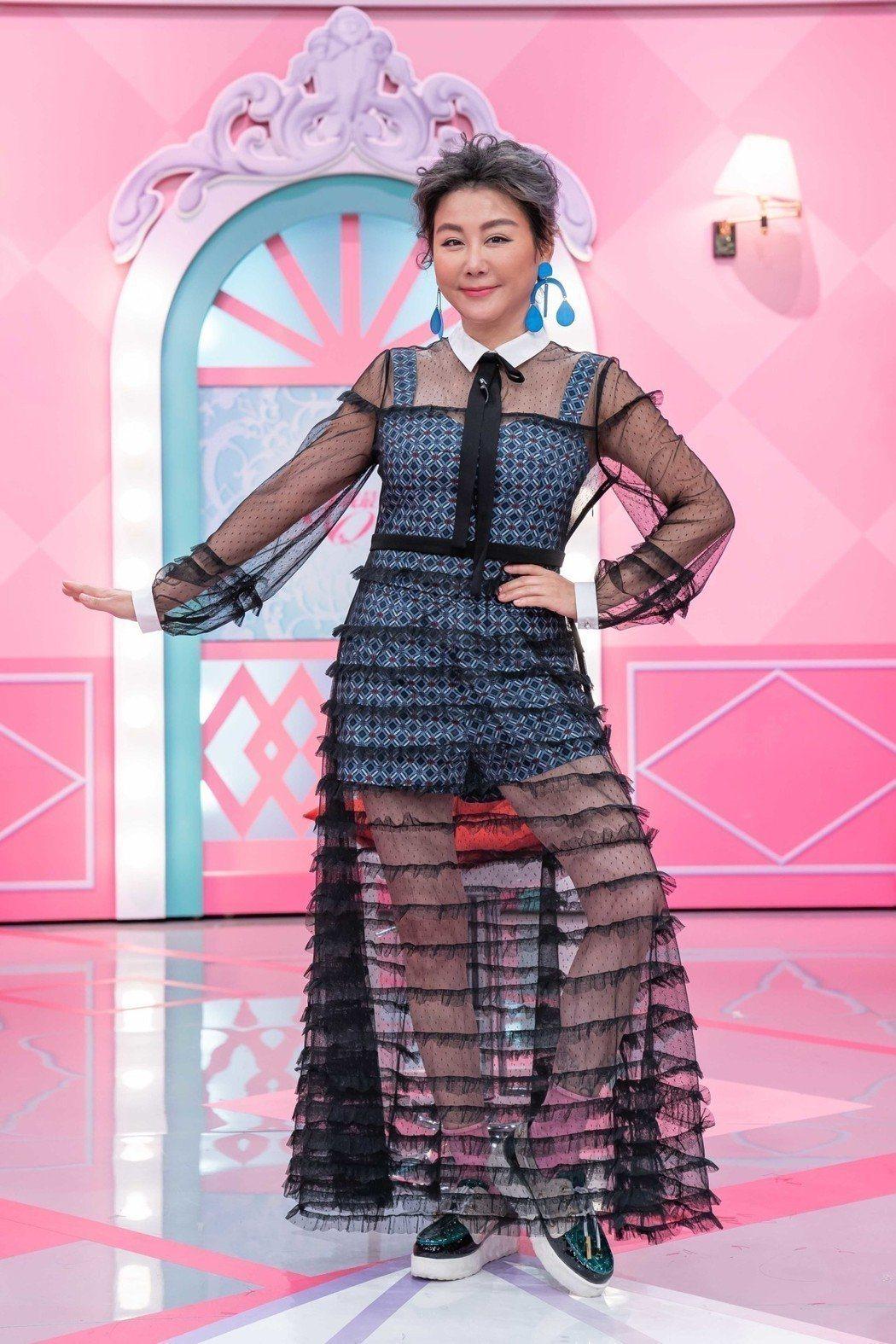 藍心湄的「女人我最大」做了17年,至今仍是時尚節目中的頂尖。圖/TVBS提供
