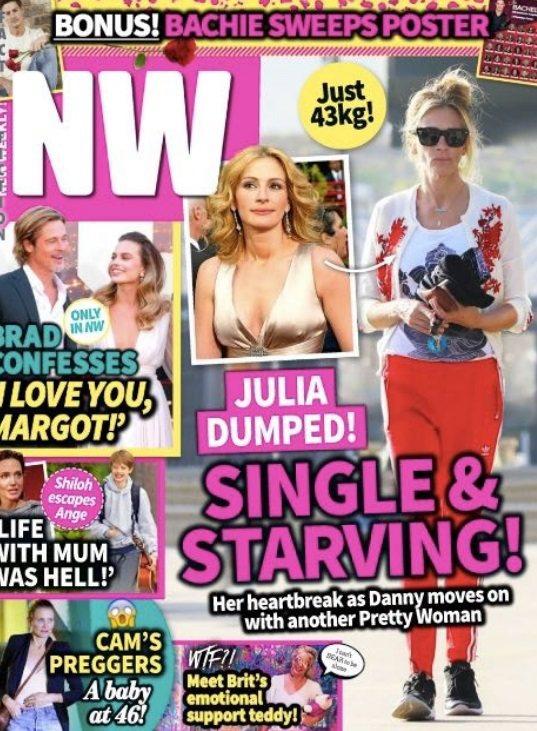 茱莉亞羅勃茲傳因婚姻裂痕瘦到只剩43公斤。圖/摘自NW