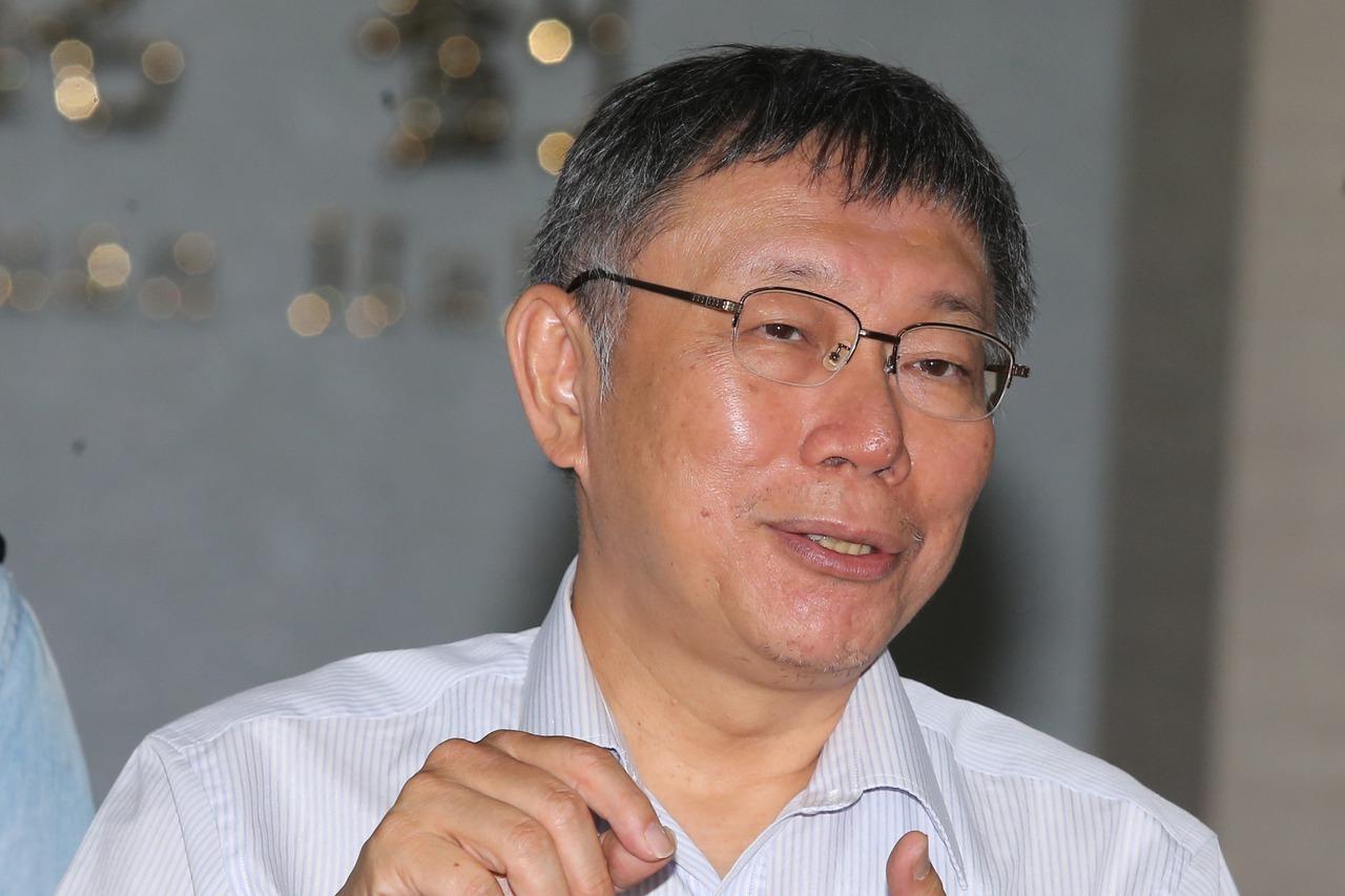 台北市長柯文哲晚間拋出組「台灣民眾黨」的震撼彈。圖/報系資料照片