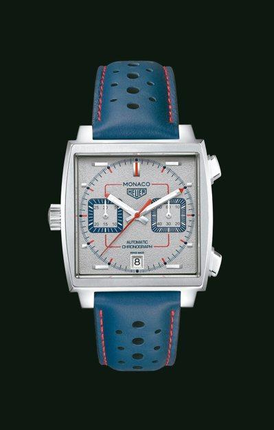 泰格豪雅Monaco1989–1999限量典藏版腕表,不鏽鋼表殼,限量169只,...