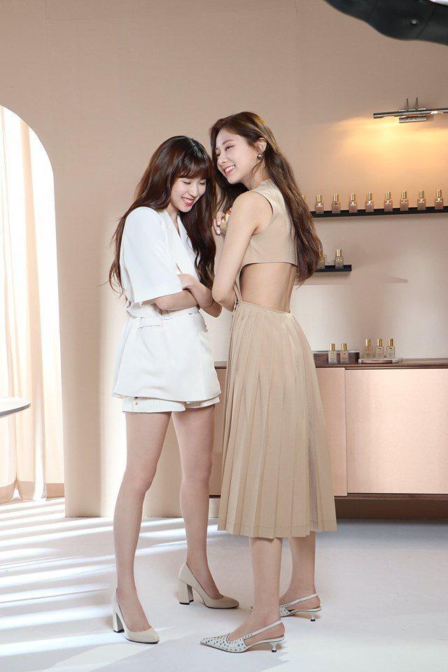 子瑜與Mina。圖/擷自TWICE臉書