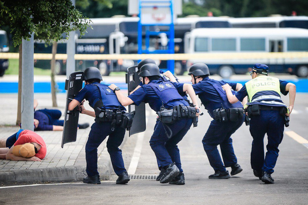 法律面與技術面的訓練,是目前台灣警察教育過程的關鍵問題。 圖/取自取自NPA署長室