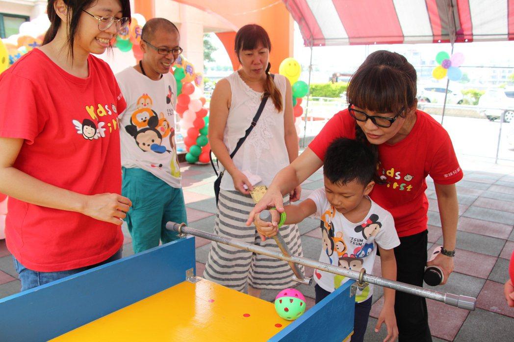 家扶大里非營利幼兒園互動式體驗課程 家扶基金會/提供