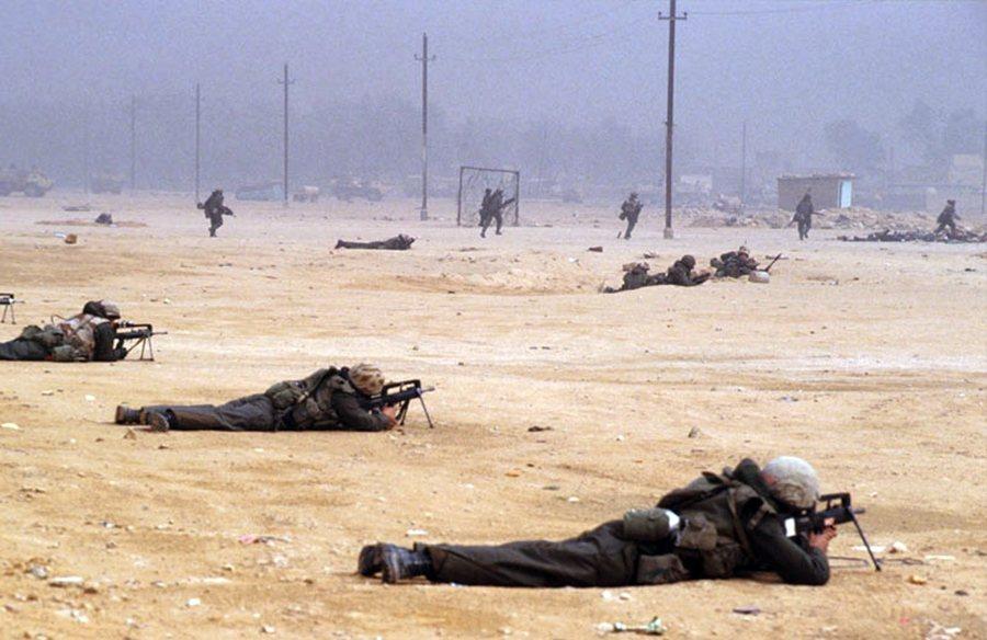 1990年伊拉克入侵科威特後,當時除了英國緊隨聯合國派出3萬5,000名英軍參戰...