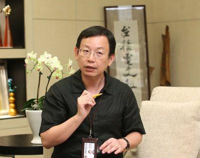 台積電文教基金會執行長許峻郎。記者林澔一/攝影