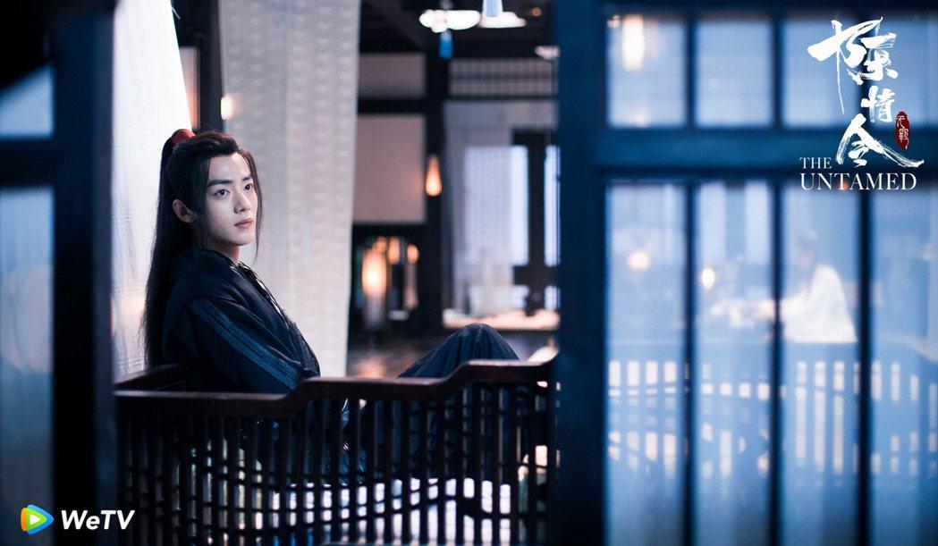 肖戰在「陳情令」中飾演魏無羨。圖/WeTV提供