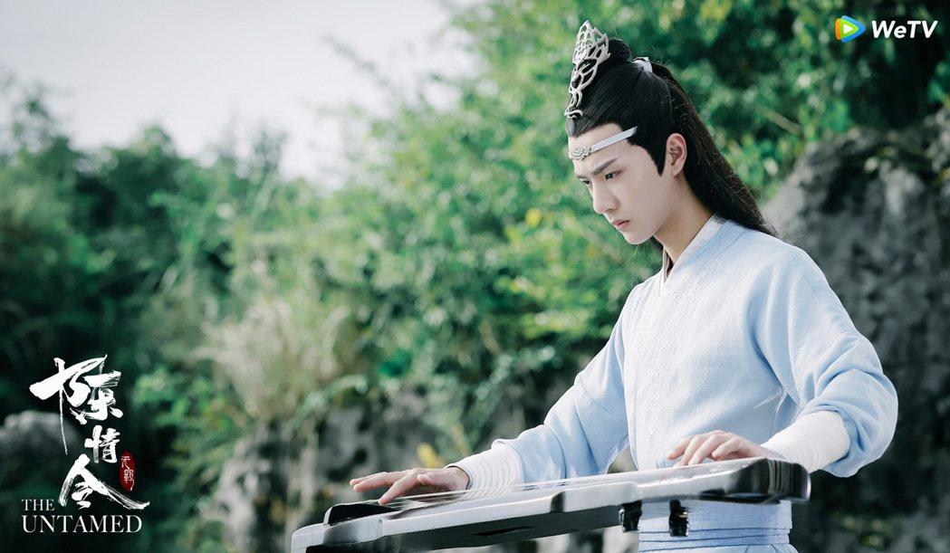 王一博主演「陳情令」。圖/WeTV提供