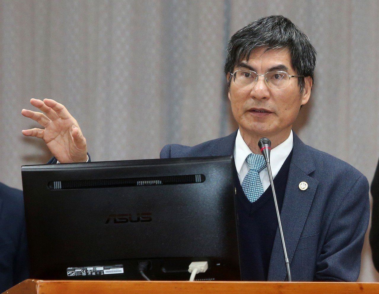 科技部長陳良基。本報系資料照片