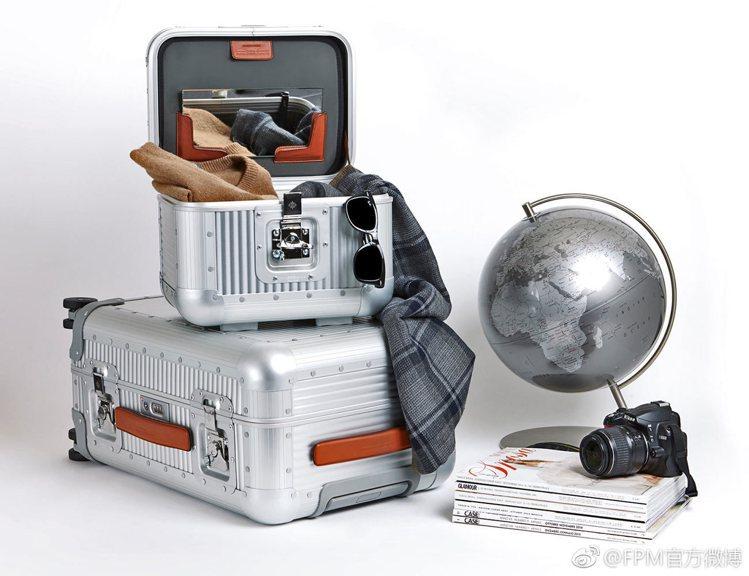FPM與工業設計大師Marc Sadler聯手推出的Bank系列鋁合金行李箱,就...