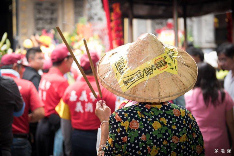 嘉義市仍存有輪普習俗,市長黃敏惠在臉書貼上各個街道的輪普表。記者李承穎/攝影