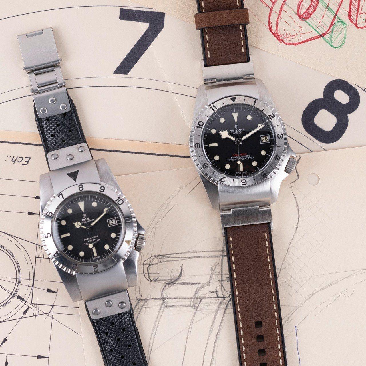 帝舵Black Bay P01(碧灣P01型)42毫米自動腕表,價格未定。圖/帝...