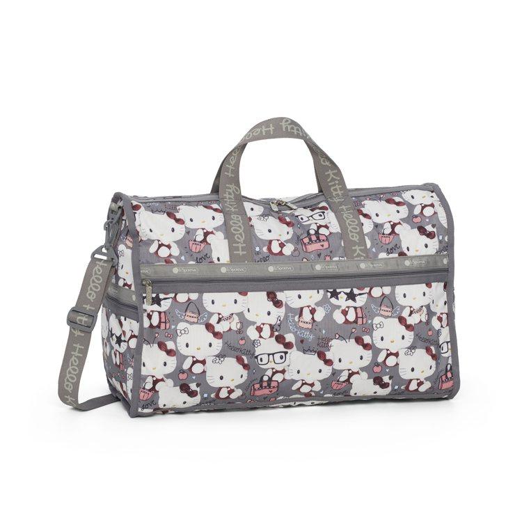 Hello Kitty x LeSportsac聯名系列百變造型大型假期旅行袋,...