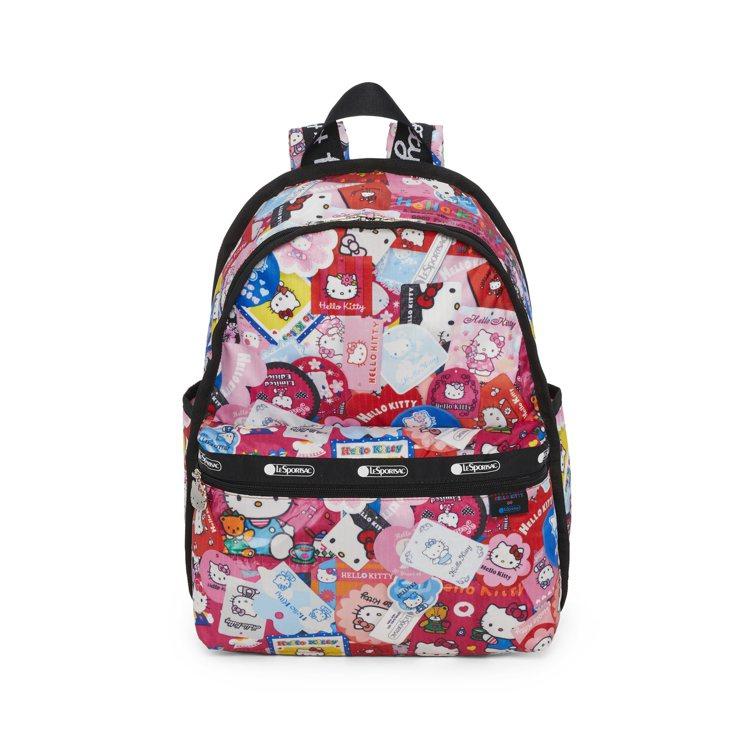 Hello Kitty x LeSportsac聯名系列收藏狂粉基本後背包,6,...