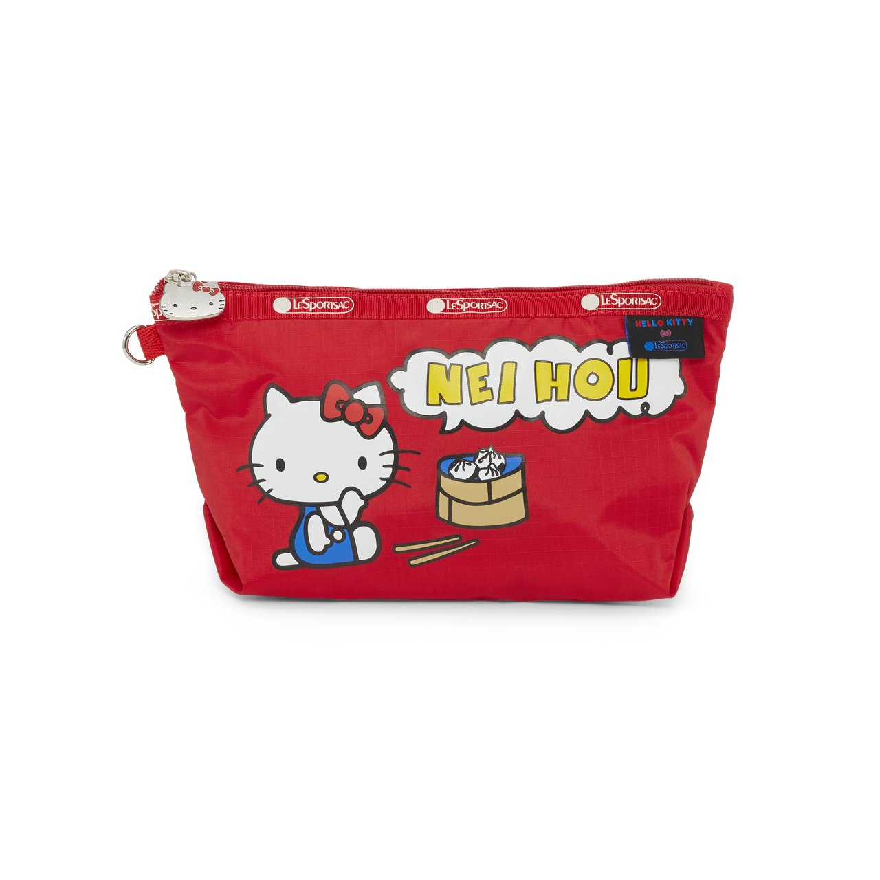 Hello Kitty x LeSportsac聯名系列「NEI HOU」中梯形...