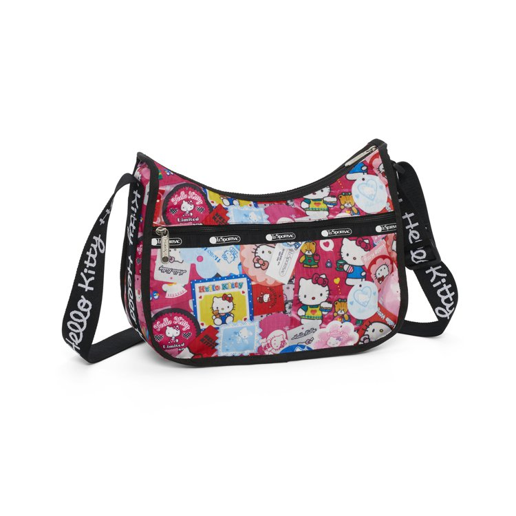 Hello Kitty x LeSportsac聯名系列收藏狂粉經典斜背包,4,...