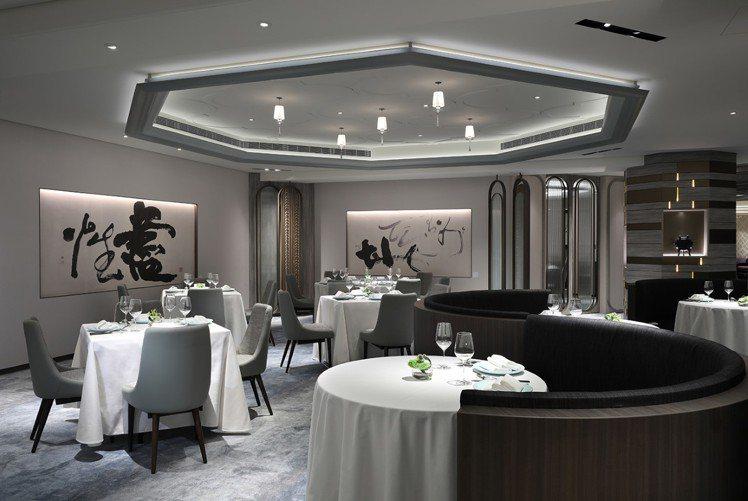 改裝後的天香樓,更添文雅韻味。圖/台北亞都麗緻大飯店提供