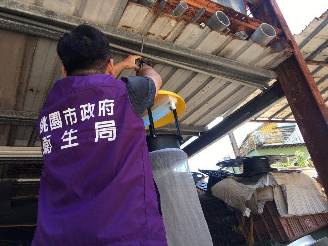 桃園市昨日再度確診一例日本腦炎患者,平鎮區一名55歲男子經就醫確診,衛生局已針對...