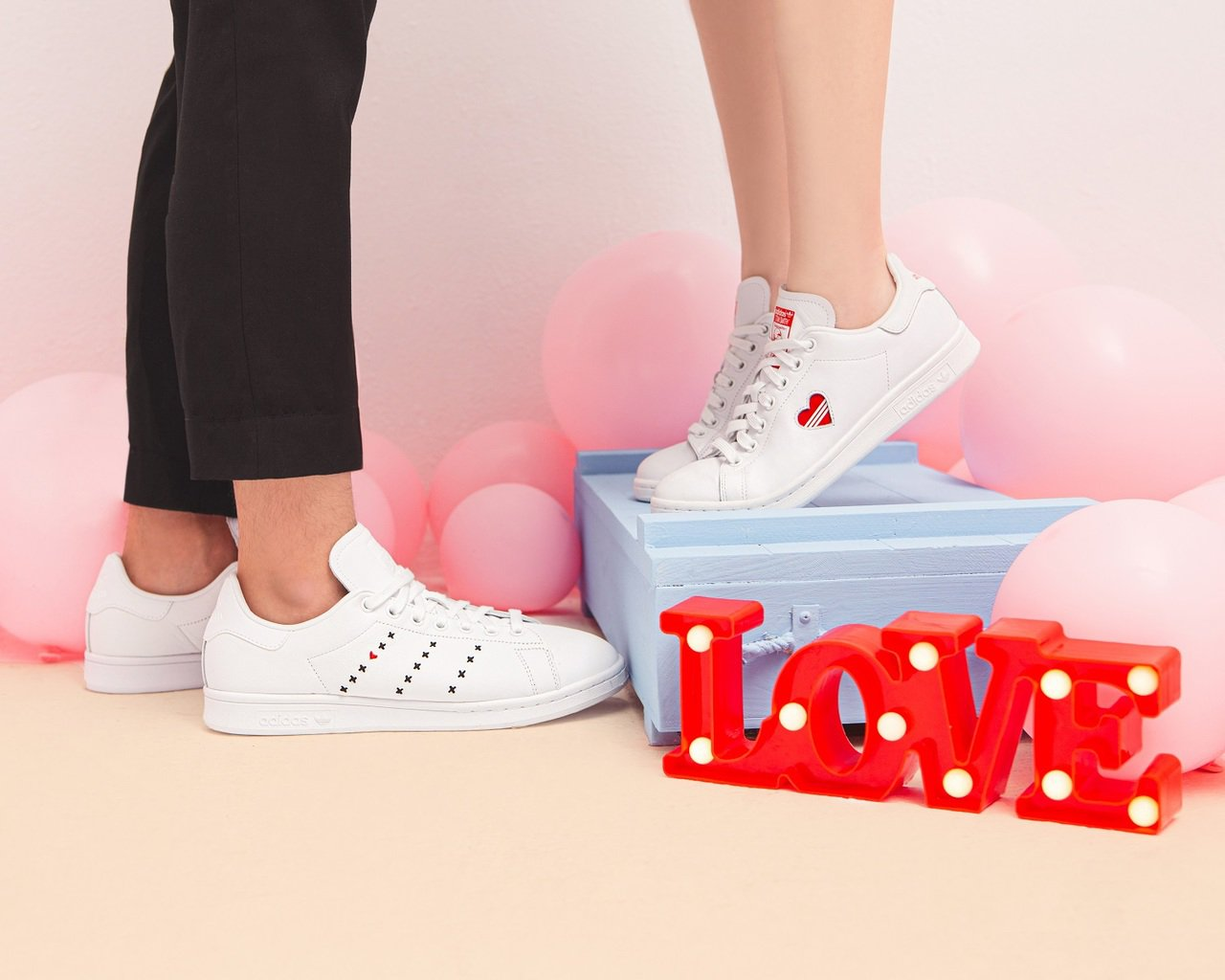adidas Originals推出七夕情人節專屬的「Stan Smith」鞋款...