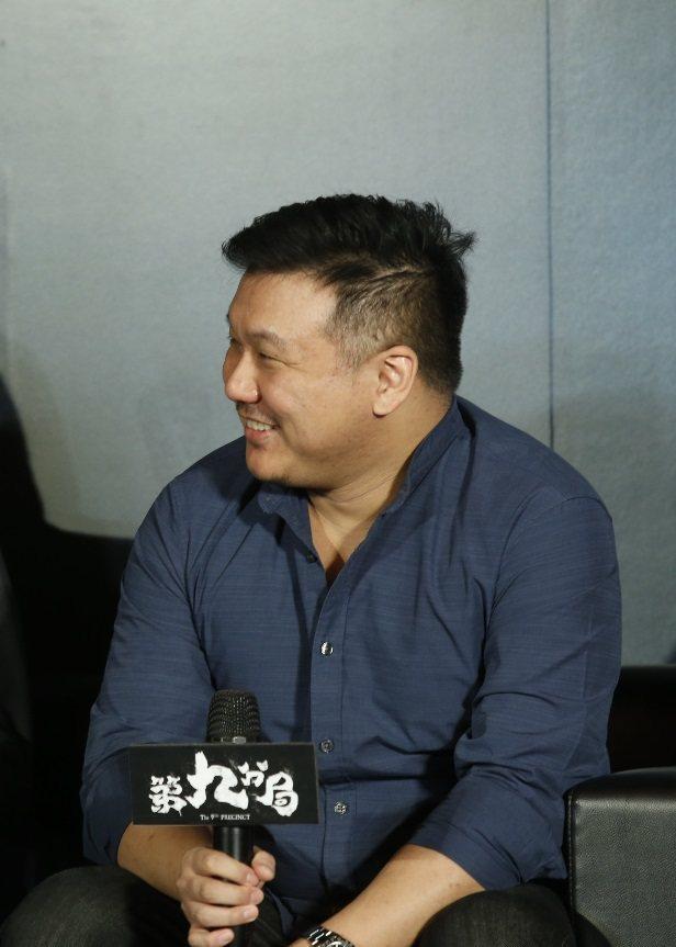 王鼎霖出身演藝界名門、新片成績備受矚目。記者鄭超文/攝影