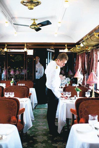 在傳奇列車上可享有Belmond豪華旅館的頂級服務。 圖/各業者提供