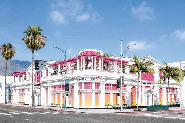 「LOUIS VUITTON X 聯名展」在洛杉磯比佛利山自即日起展至9月15日...