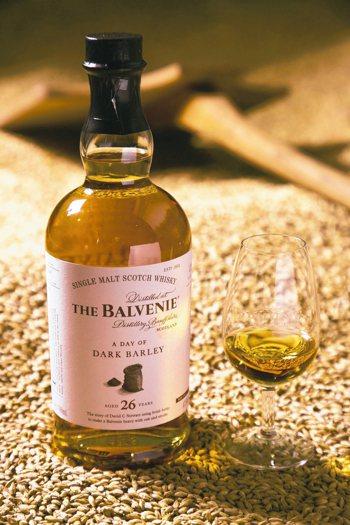 百富故事系列26年深烘焙單一麥芽威士忌。 圖/格蘭父子洋酒提供