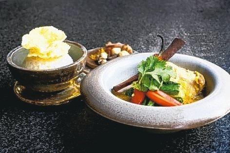 在森林裡體驗完靈修旅程,可至虹夕諾雅酒店內享用印尼創意料理。 圖/各業者提供