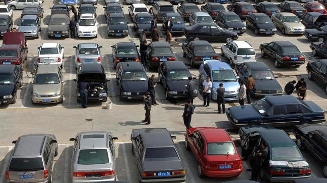 中國大陸已首度出口中古車,且出口量將持續增加,可能顛覆全球中古車市場。圖/路透