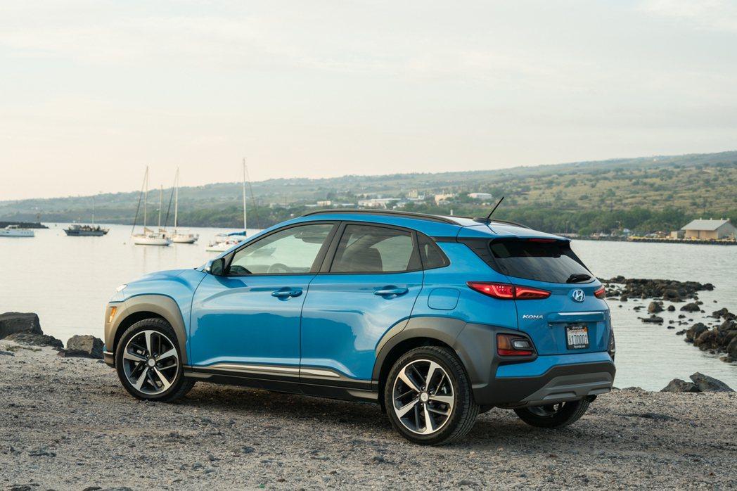新年式美規Hyundai Kona高階車款新增SCC。 摘自Hyundai