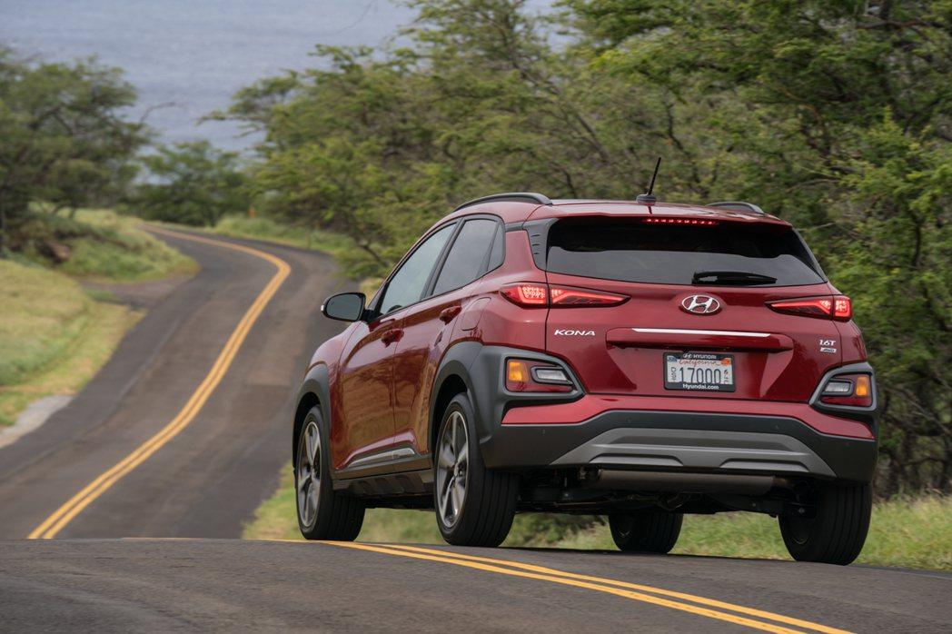 美規Hyundai Kona。 摘自Hyundai