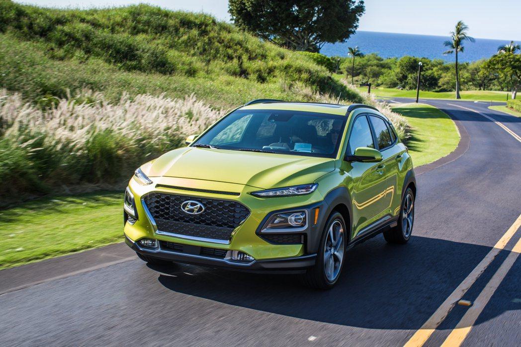 新年式美規Hyundai Kona售價稍有調整。 摘自Hyundai